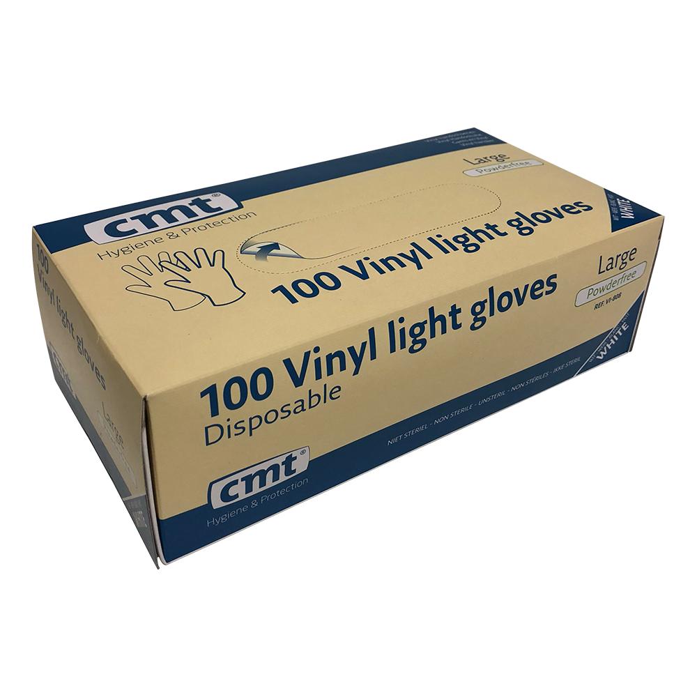 Vinyl Handschoenen Maat L 100 St.