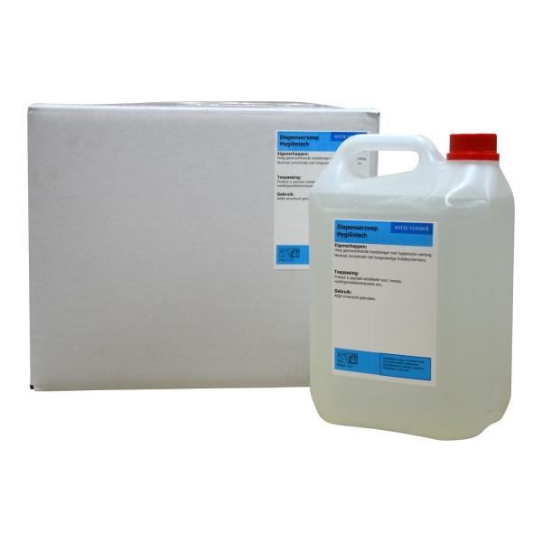 Desinfectie Handzeep Op Alcoholbasis (antibacterieel) Navul 5 Ltr