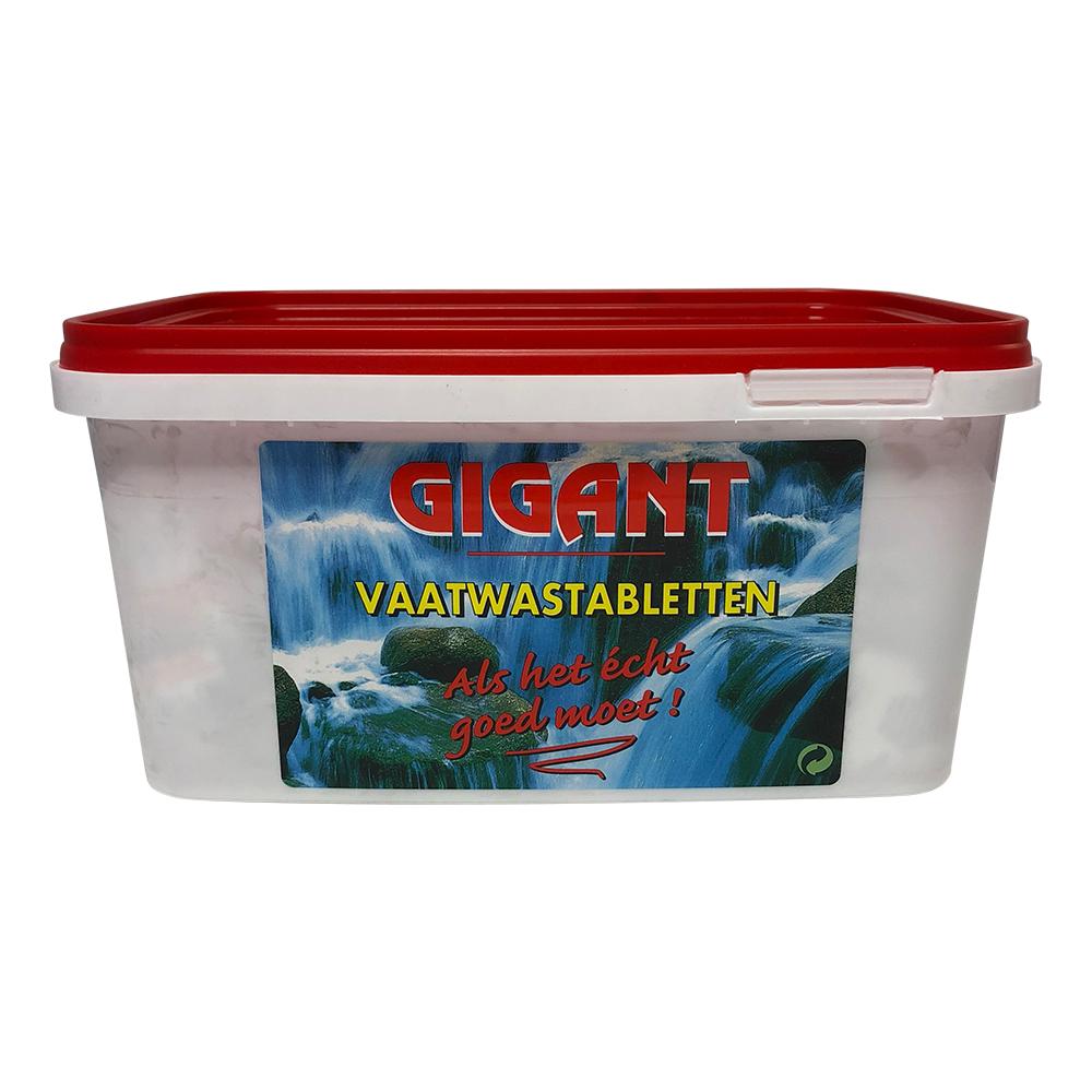 Gigant Vaatwas-tabletten 100st