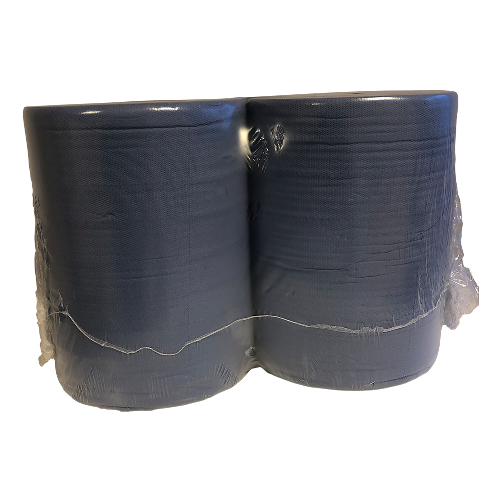 Industrierol Blauw 2 Lgs 1000 Vel 37cm