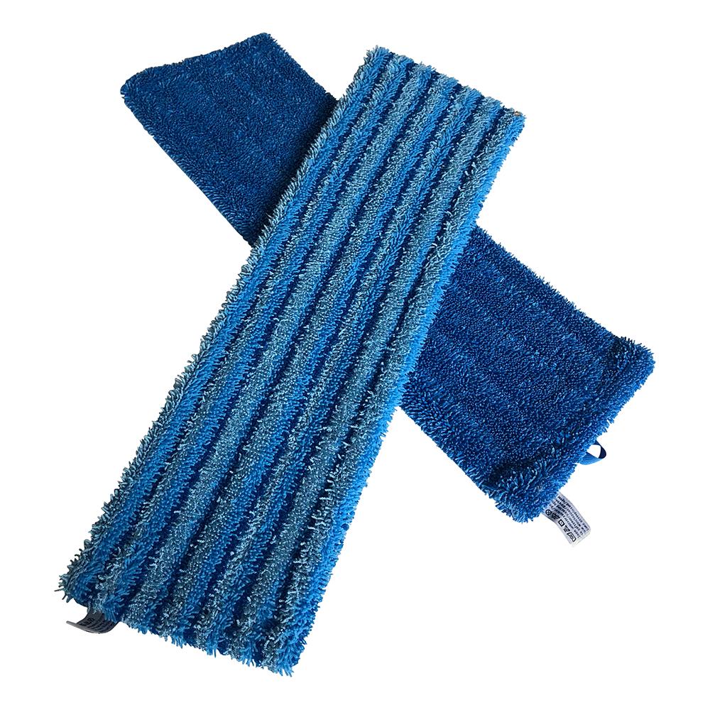 Combinatievoordeel!: 1x Microvezel Vloerhoes Blauw + 1x Gigant Scrubmicrovezel Vloerhoes